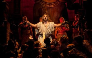 Tenor Clifton Forbis is Samson in San Diego Opera's SAMSON AND DELILAH. Photo by J. Katarzyna Woronowicz.