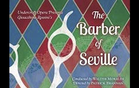 Undercroft Opera presents Rossini's THE BARBER OF SEVILLE