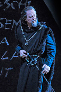 Ferruccio Furlanetto as Simon Boccanegra. Photo Dan Rest