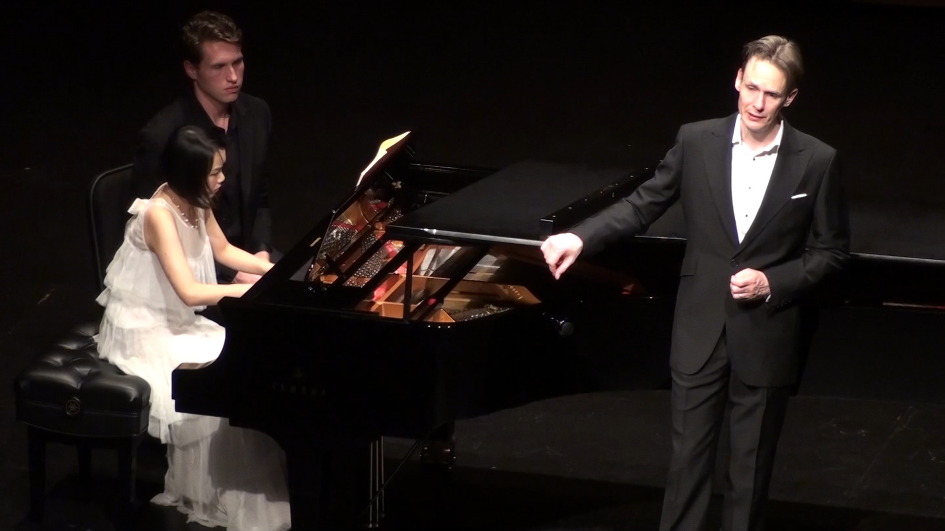 Tenor Ian Bostridge, and pianist Wenwen Du | A Promising Start for the new Dallas Opera Art Song Recital Series