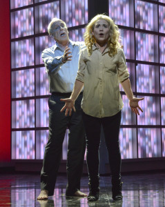 """Robert Orth and Joélle Harvey in Tod Machover's """"Death and the Powers"""""""