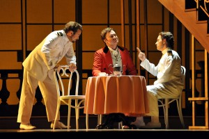 Scott Quinn, Paul Scholten, Tyler Simpson — Fort Worth Opera Festival Così fan tutte