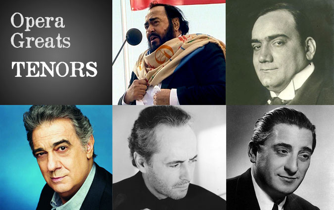 Opera Greats: The Tenors