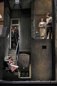 A scene from San Diego Opera's LA BOHEME. Photo by Ken Howard.