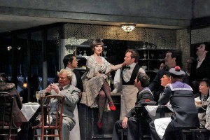 Soprano Sara Gartland is Musetta. Photo by Ken Howard.