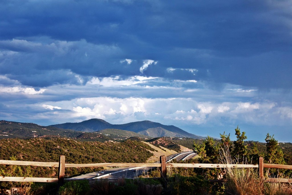 View from Santa Fe Opera - Photo via Flickr: Prizmatic